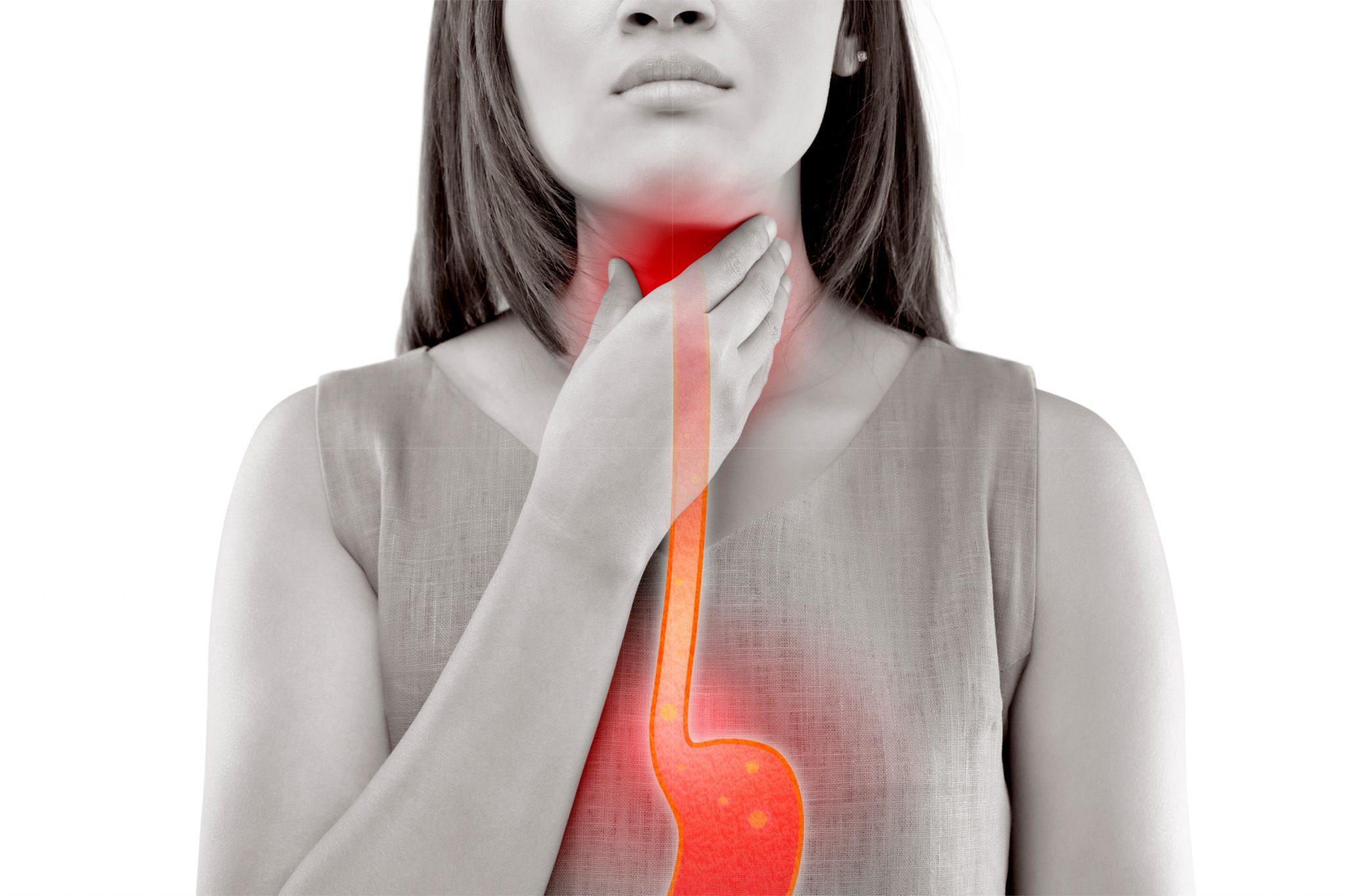 呑気症を患っている女性