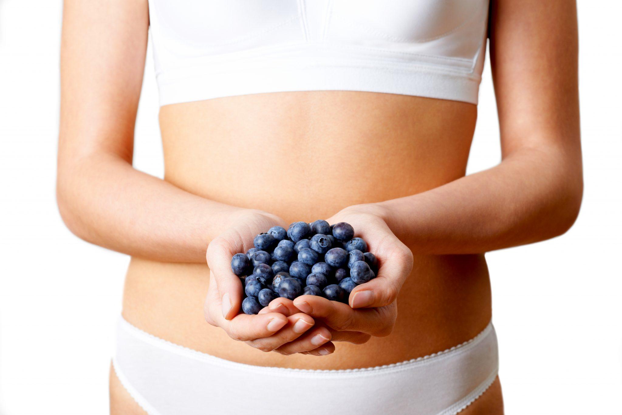 腸内環境を整えてくれるブルーベリー