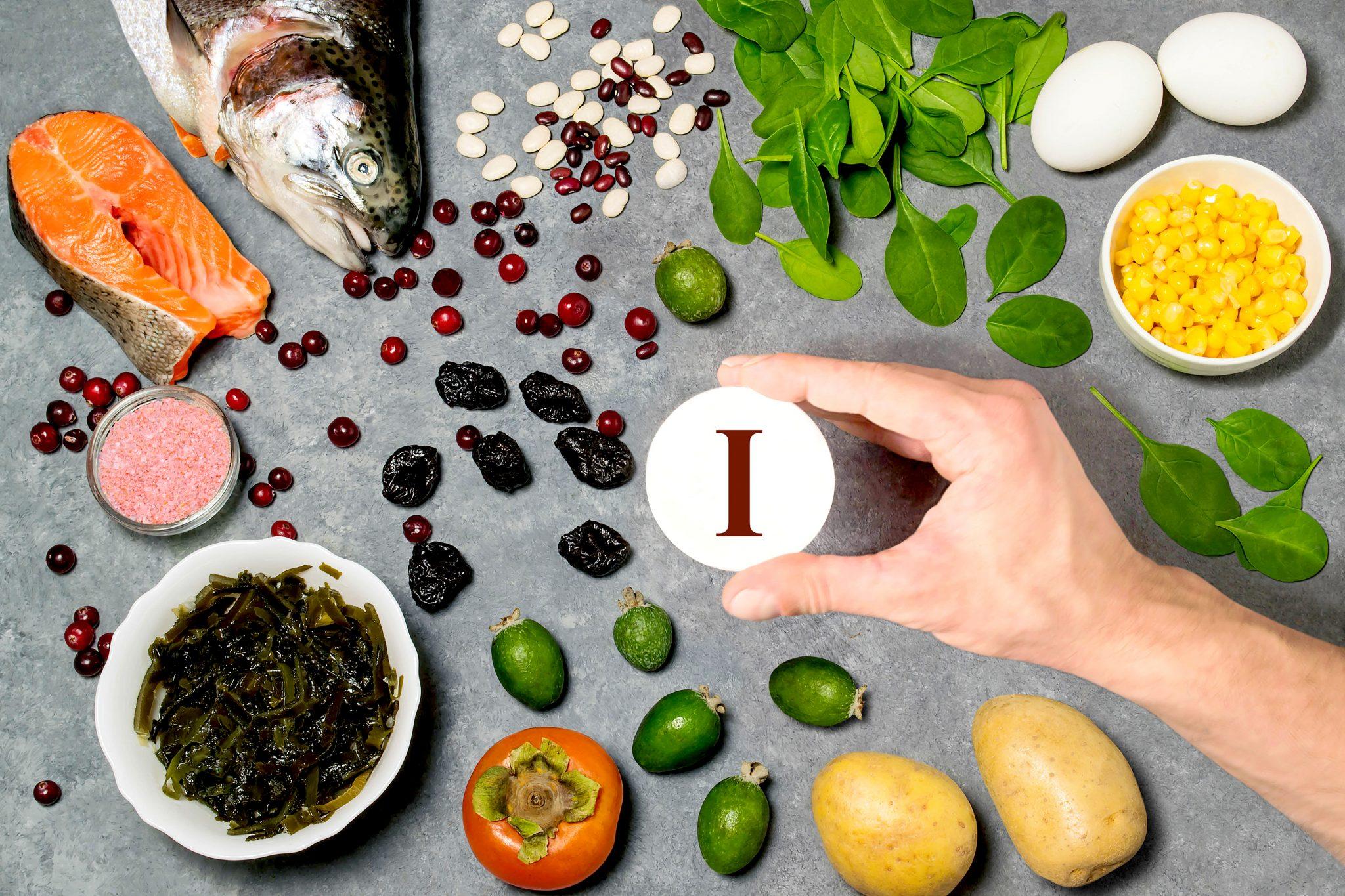 ヨウ素を多く含む食べ物