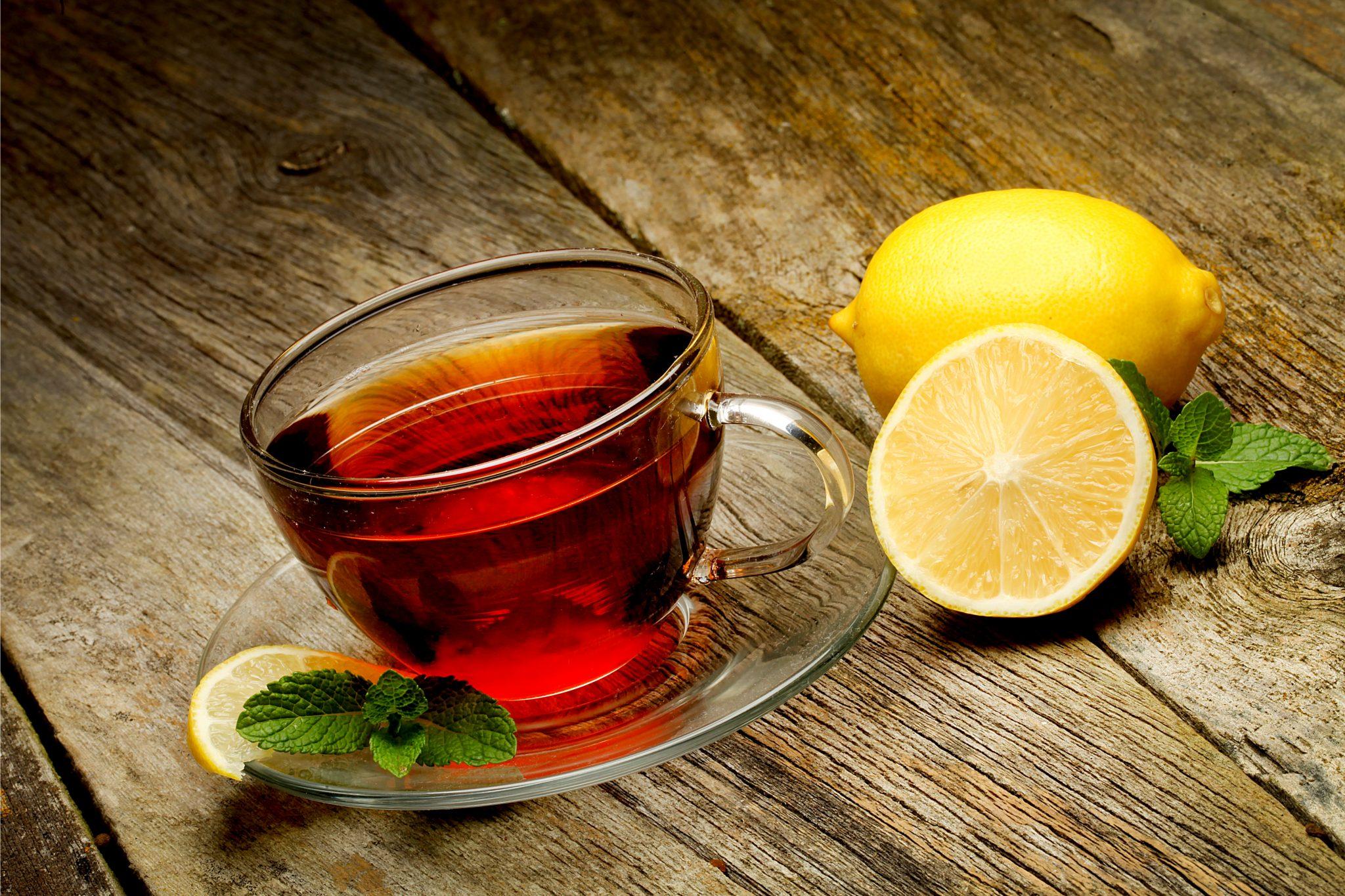 紅茶とレモン