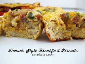 Kate's Take: Denver-style Breakfast Biscuits