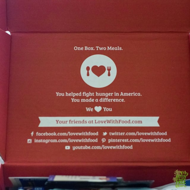 Love with Food June Box