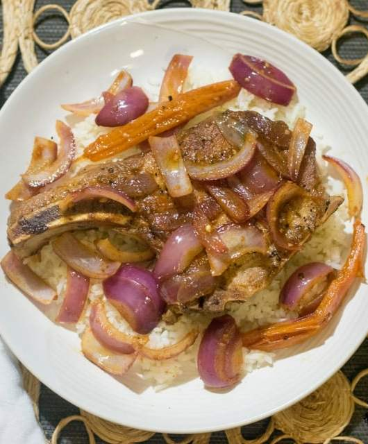 Pork Chops with Onions