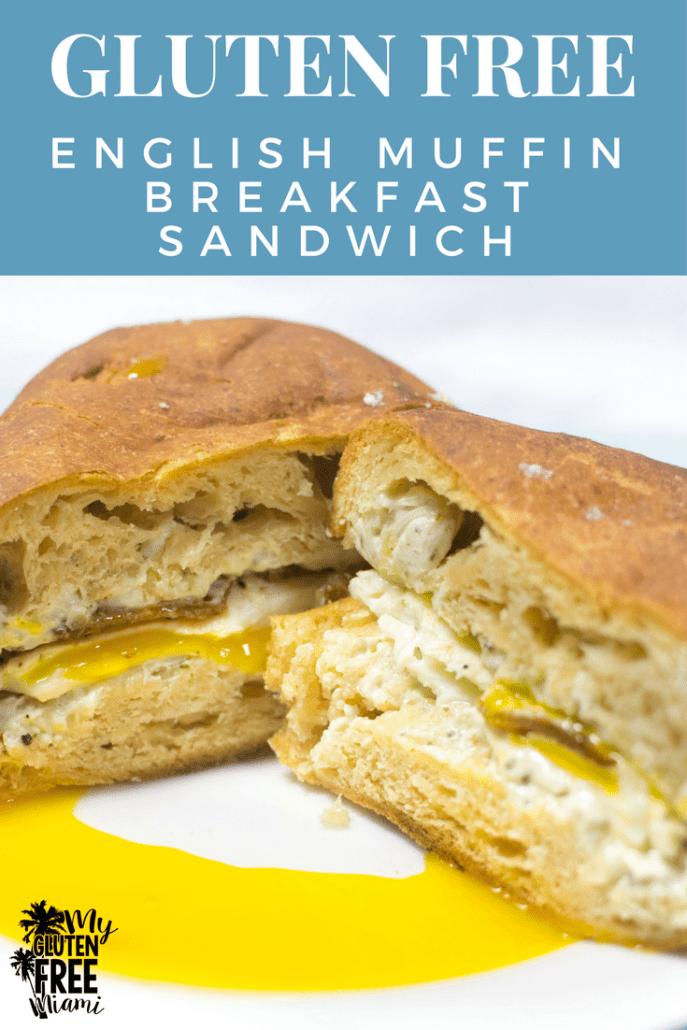 Gluten Free Breakfast Sandwich