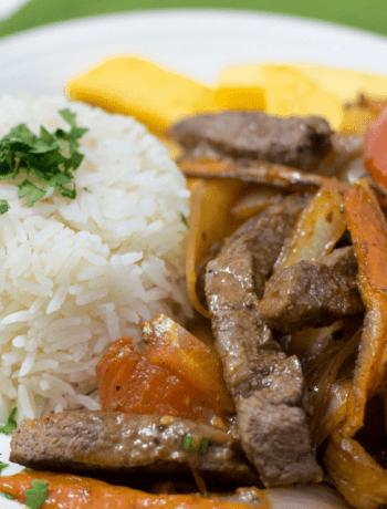 Lomo Saltado Peruvian Stir Fry
