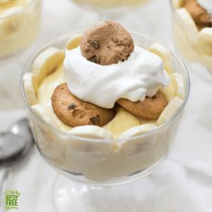 gluten free chocolate chip banana pudding