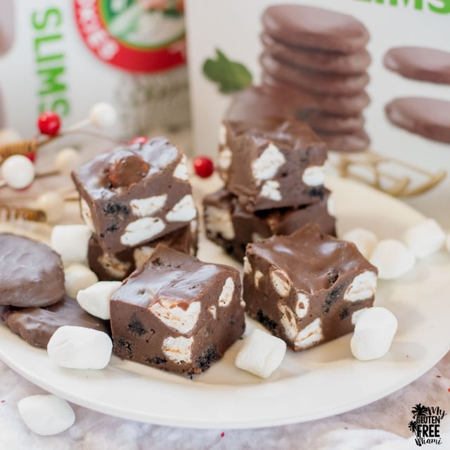 Rocky Road Fudge with Cookies