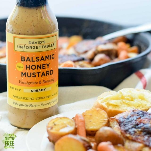 One Pan Honey Mustard Chicken