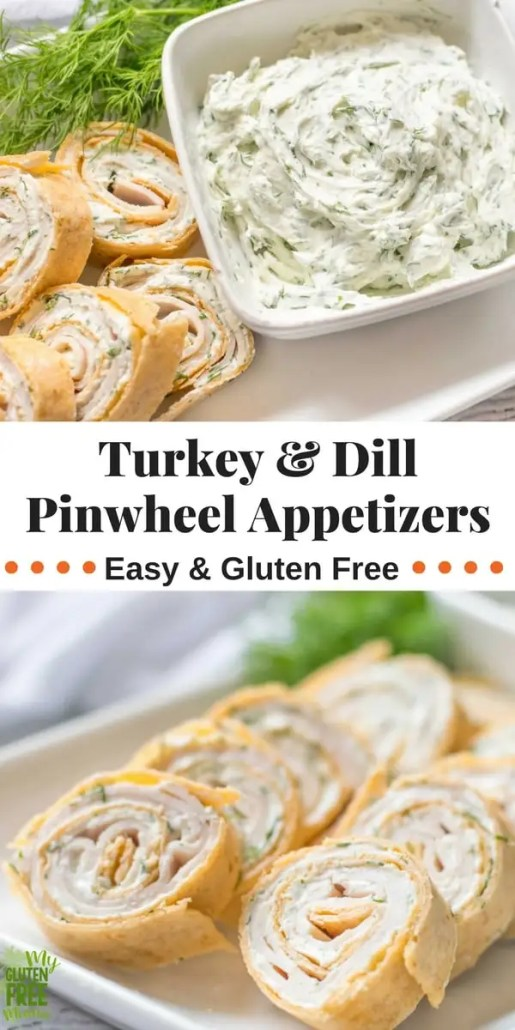 Turkey and dill pinwheel