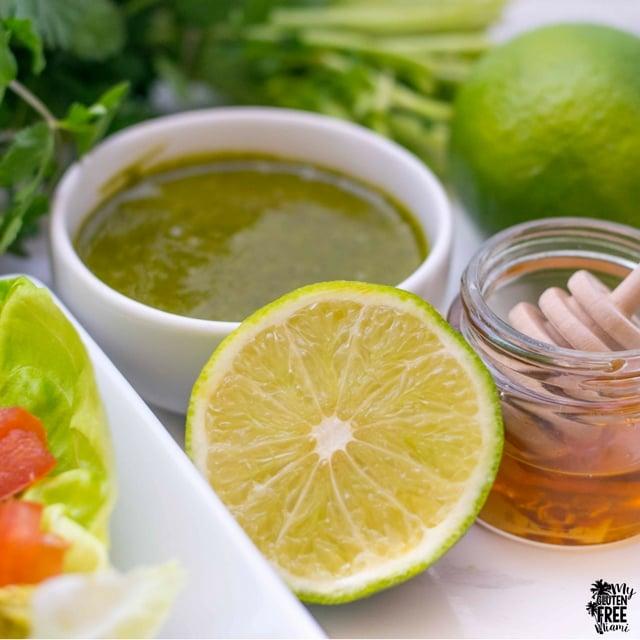 Cilantro Lime Honey Dressing