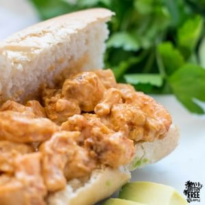 Chipotle Shrimp Salad Sandwich