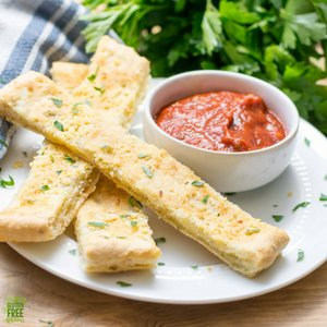 Gluten Free Cheezy Bread Sticks
