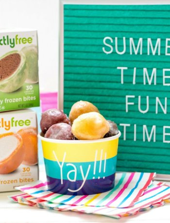 Summer Time Fun Time sign with perfectlyfree frozen bites