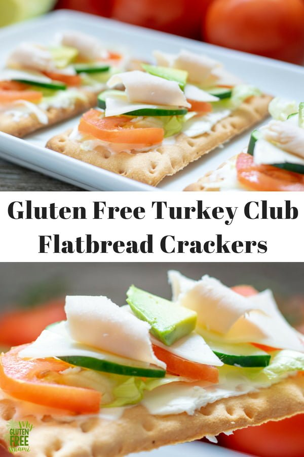 All the classic flavors of a California Turkey Club, in a gluten free, easy to eat snack. Skip the bread and whip up this deliciousness on the perfect flatbread cracker!