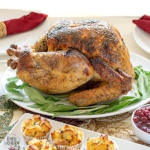 Easy, No Fail Gluten Free Brined Turkey