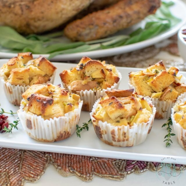 Gluten Free Stuffing Cups