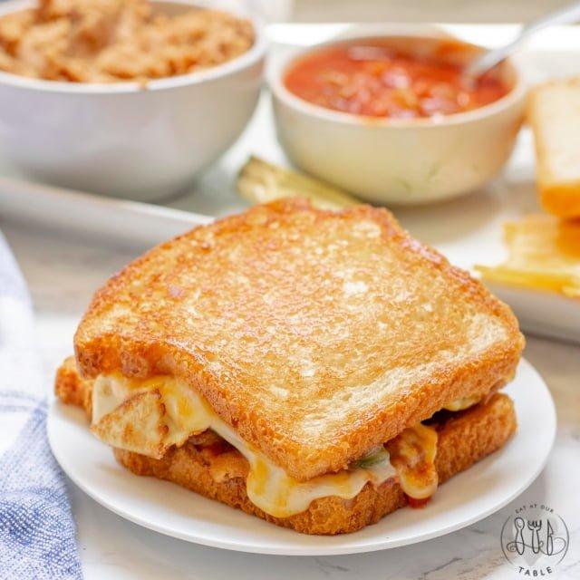 whole breakfast sandwich