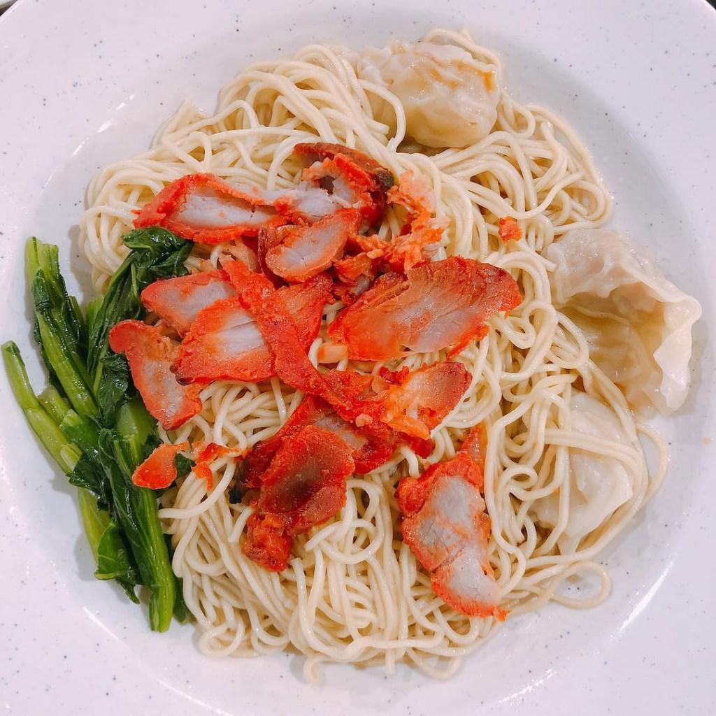Katong Food ENG's Char Siew Wantan Mee