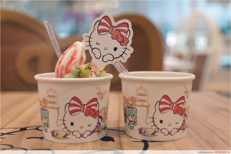 Hello Kitty Cafe Froyo