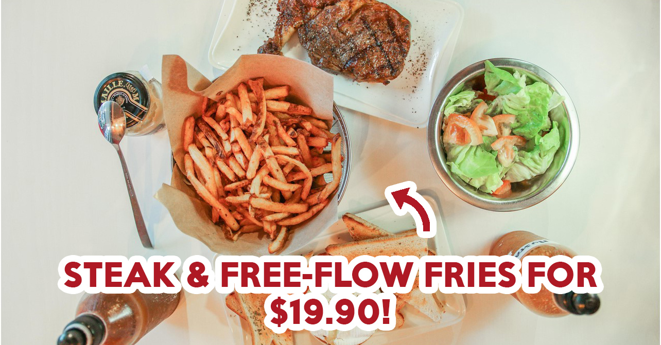 Braseiro Review: Steak With Free-Flow Fries For $19.90 At Joo Chiat