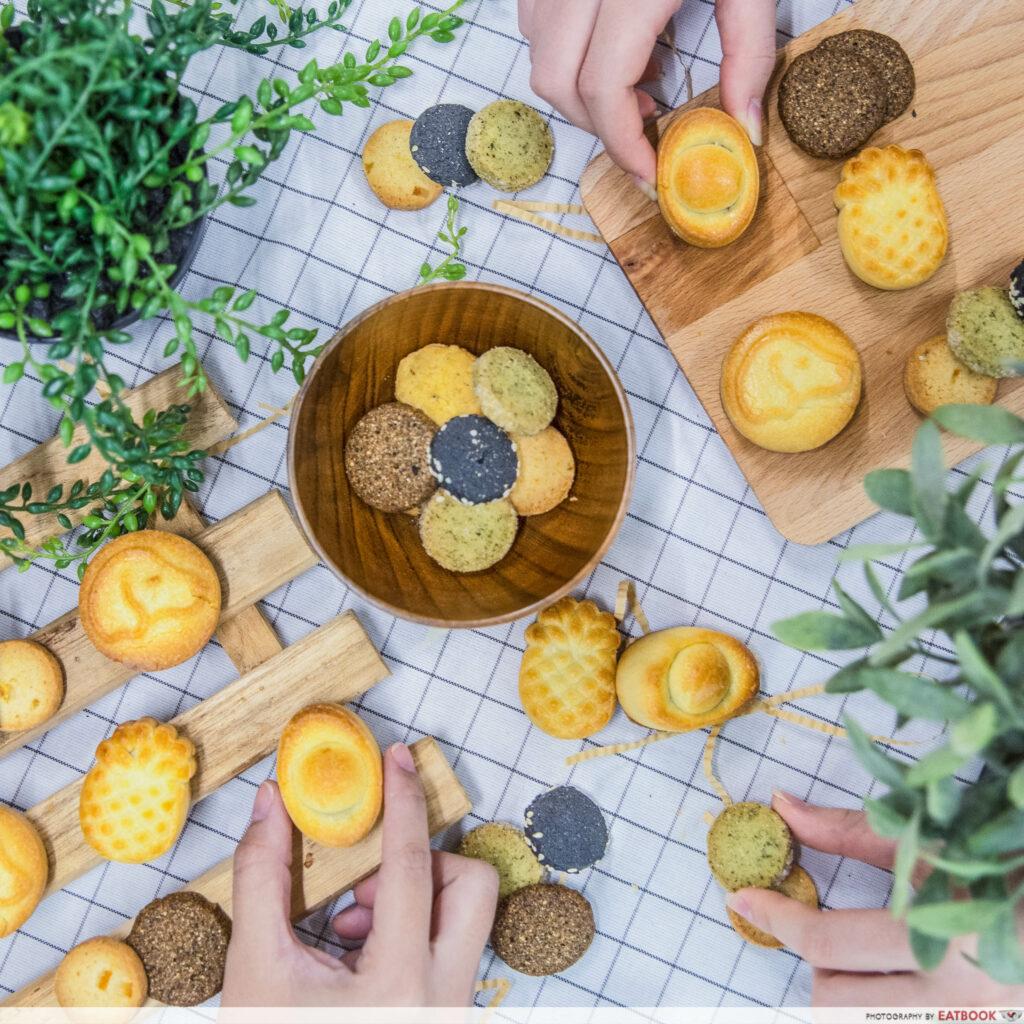updated cny snacks - Bakerzin