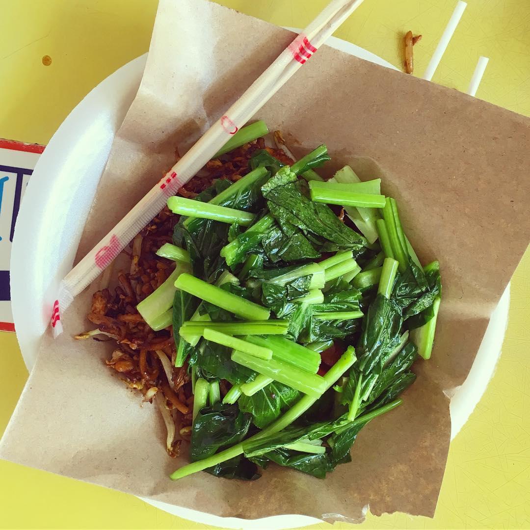 pasir panjang food - heng huat fried kway teow