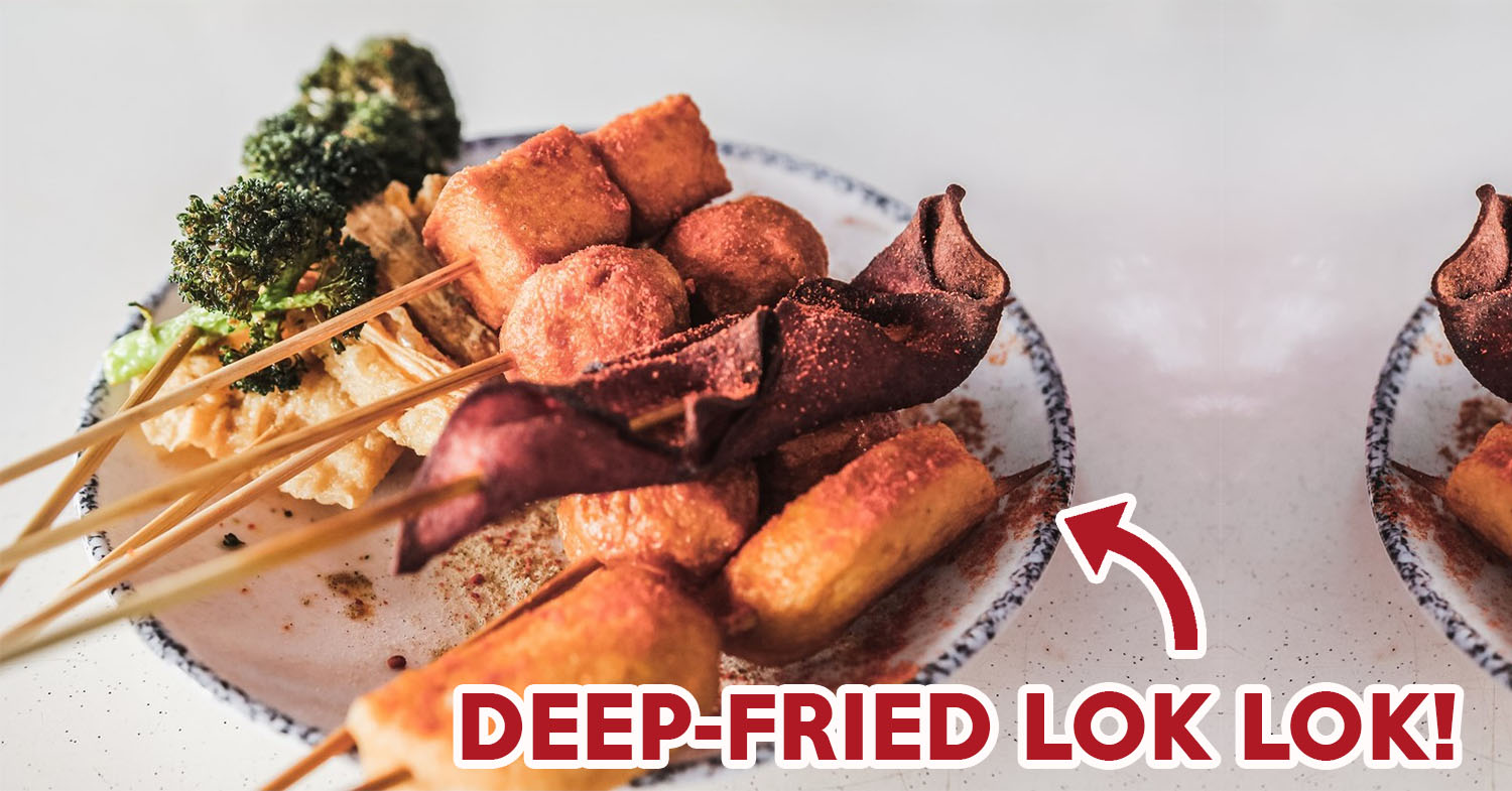 Lok Pot Review: Lok Lok At Bedok With $1 Skewers That Can Be Deep Fried, Boiled Or Grilled