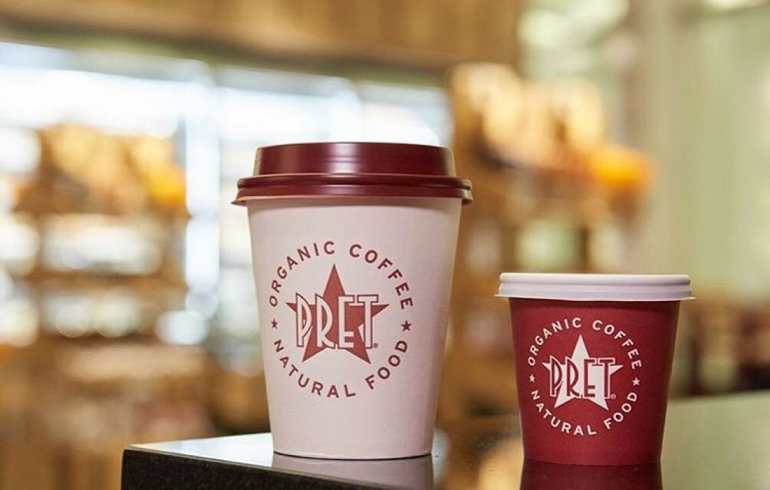Pret A Manger - coffee