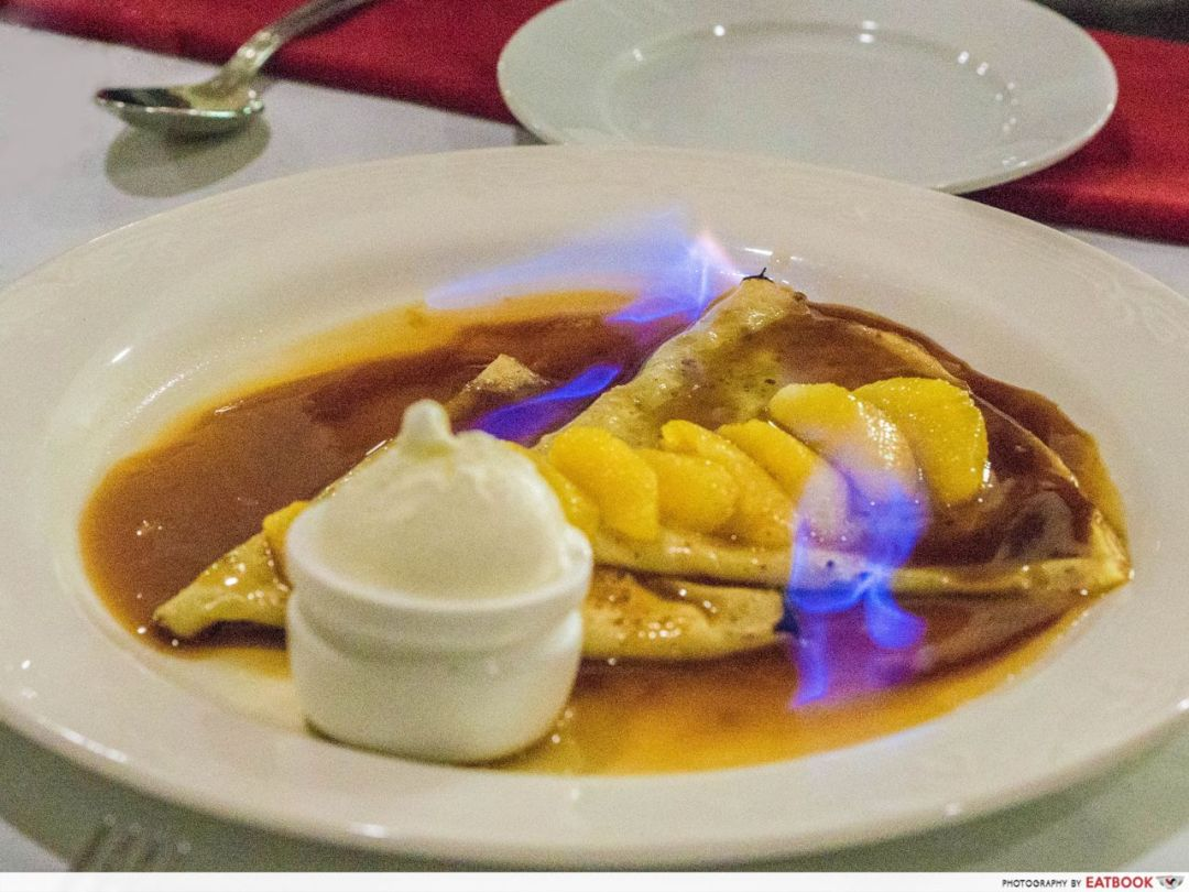 swan valley - crepes suzette