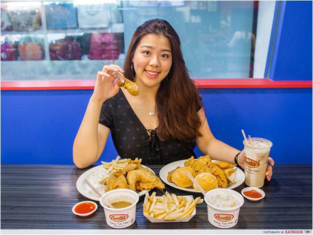Arnold's fried chicken - dine in