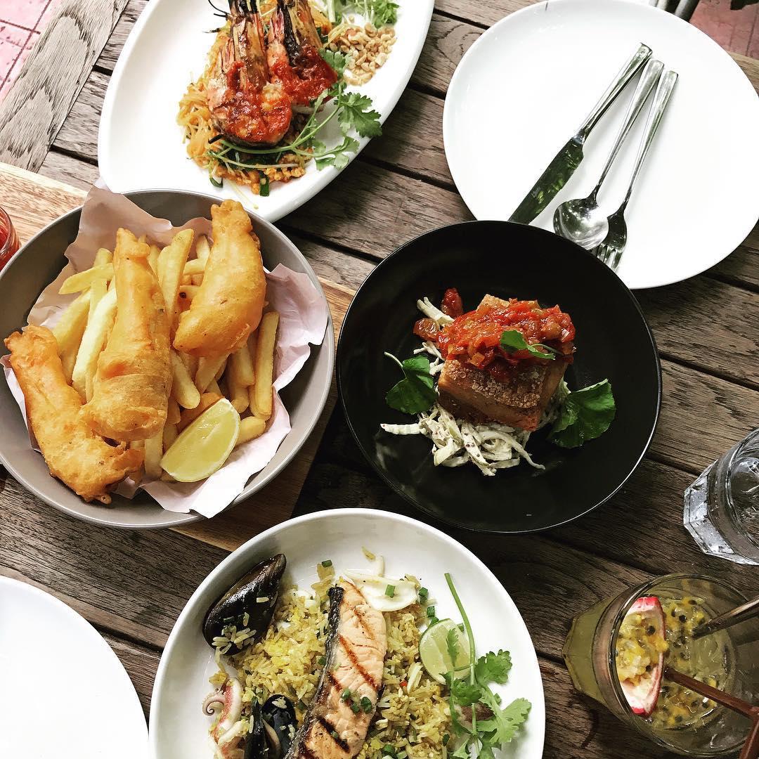 bangkok hipster cafe - bitterman food