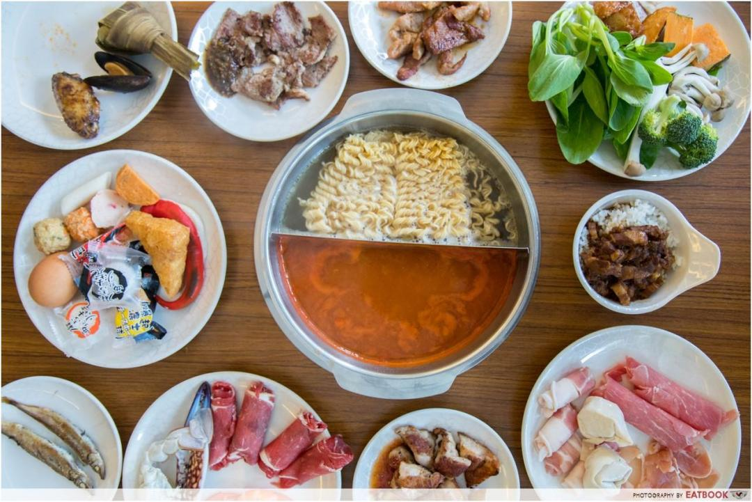 one more steamboat - food
