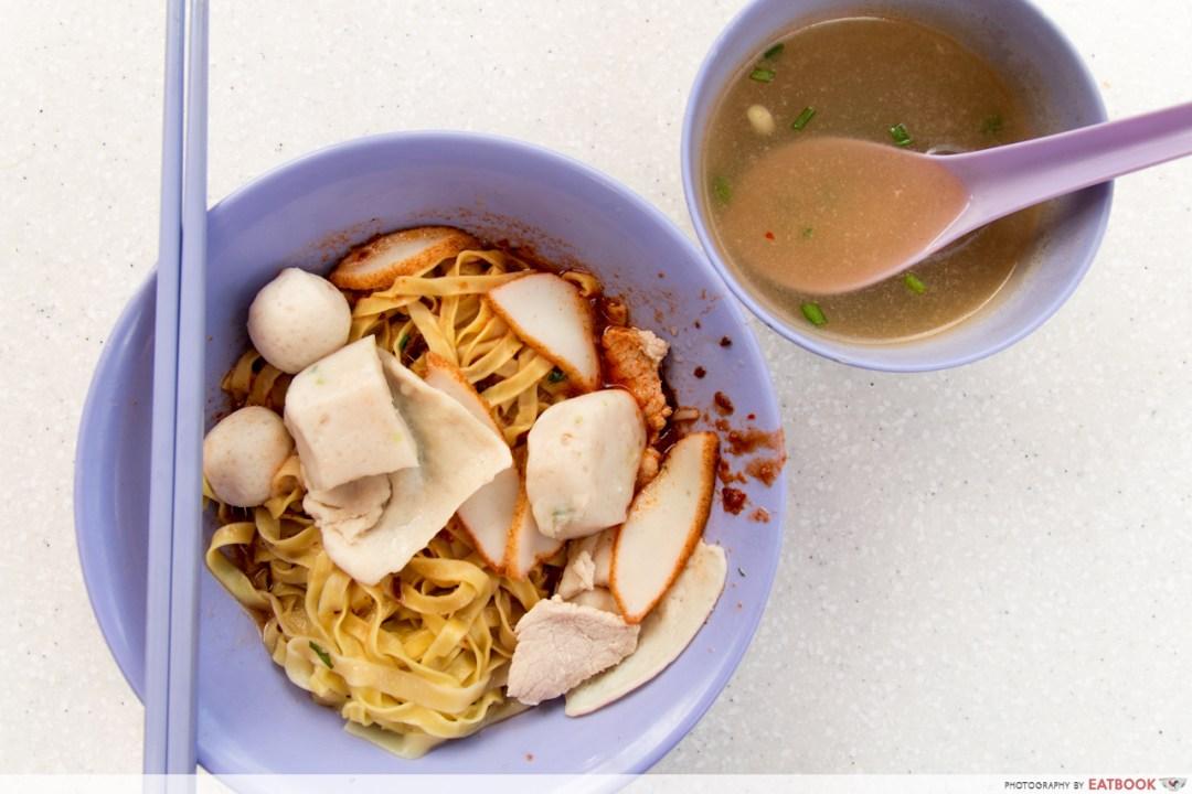 tiong bahru market - fish ball noodles
