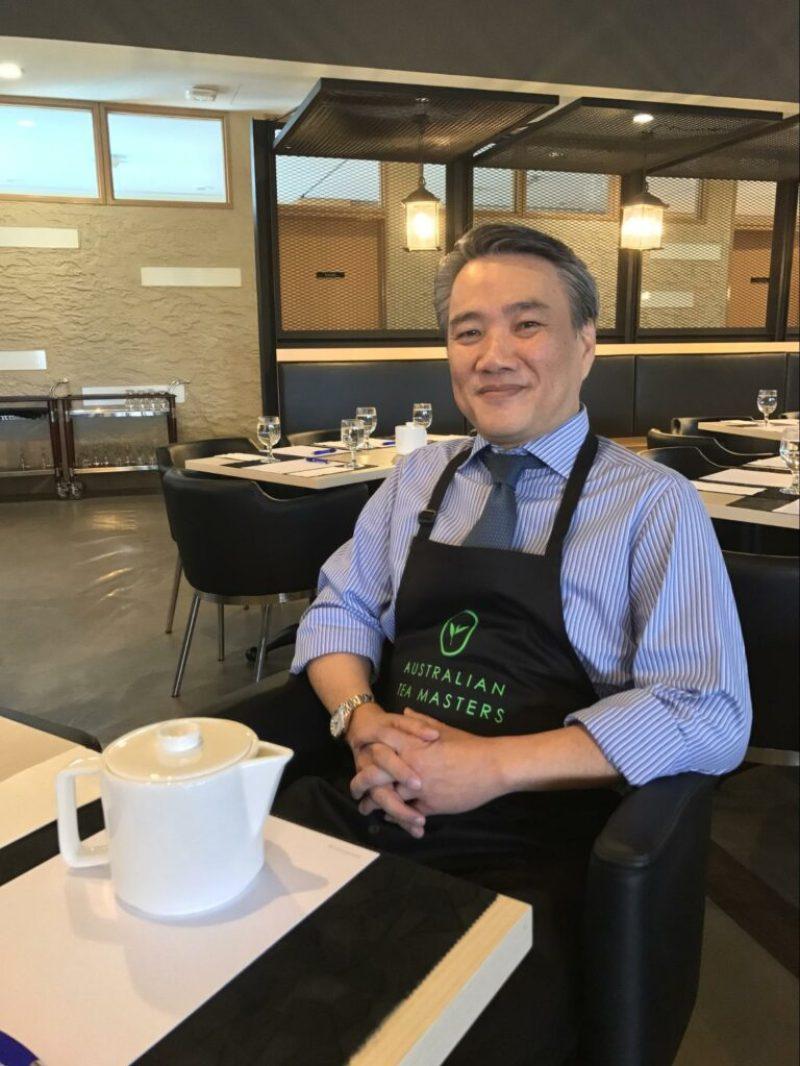 e2i tea masterclass - Mr David Chan