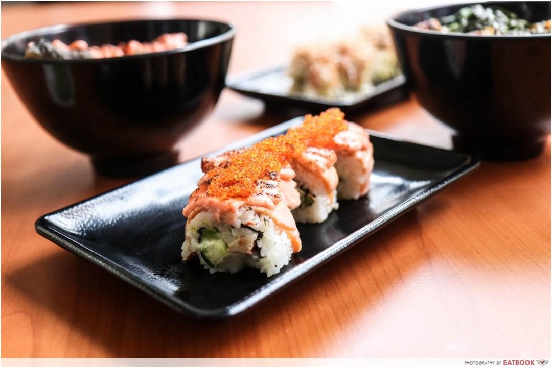 Donya Japanese Cuisine - mentai maki