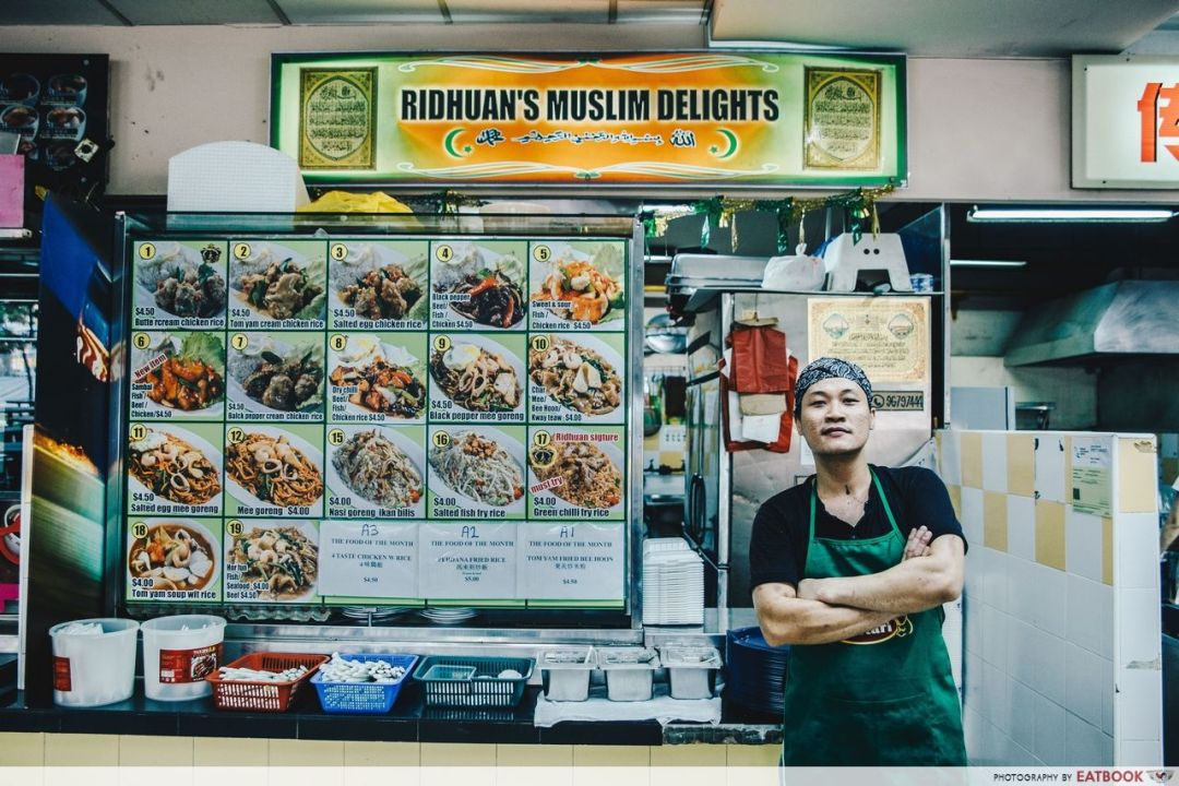 Ridhuan's Muslim Delights - Stall