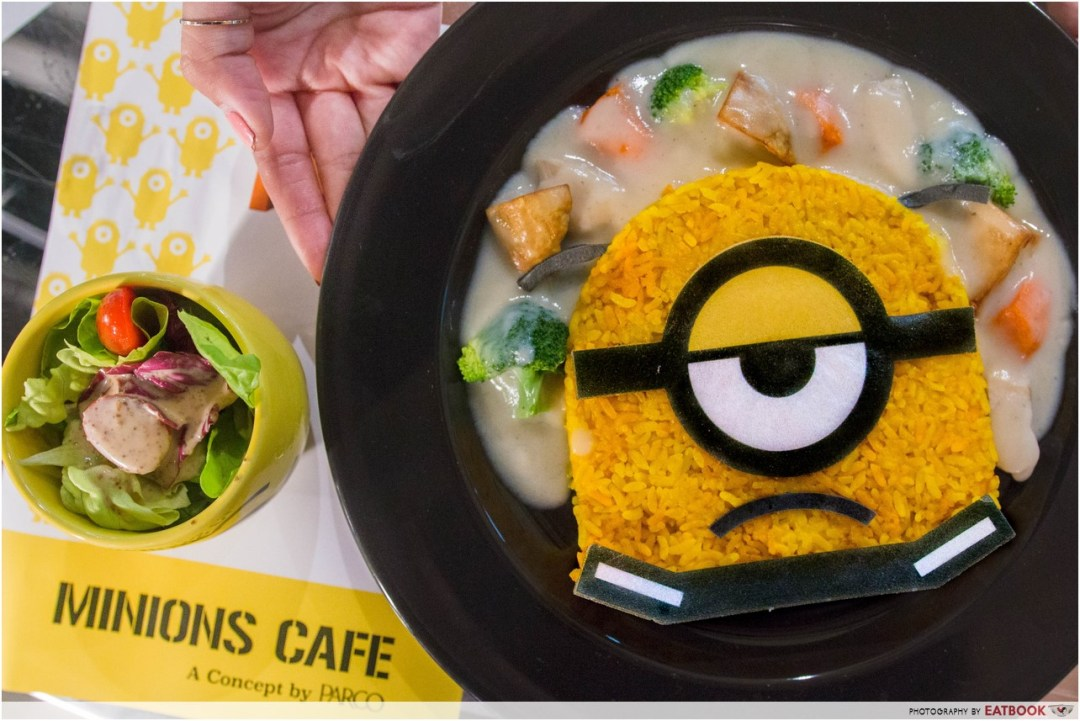 Minions Cafe review - Minion's Great Escape Cream Stew
