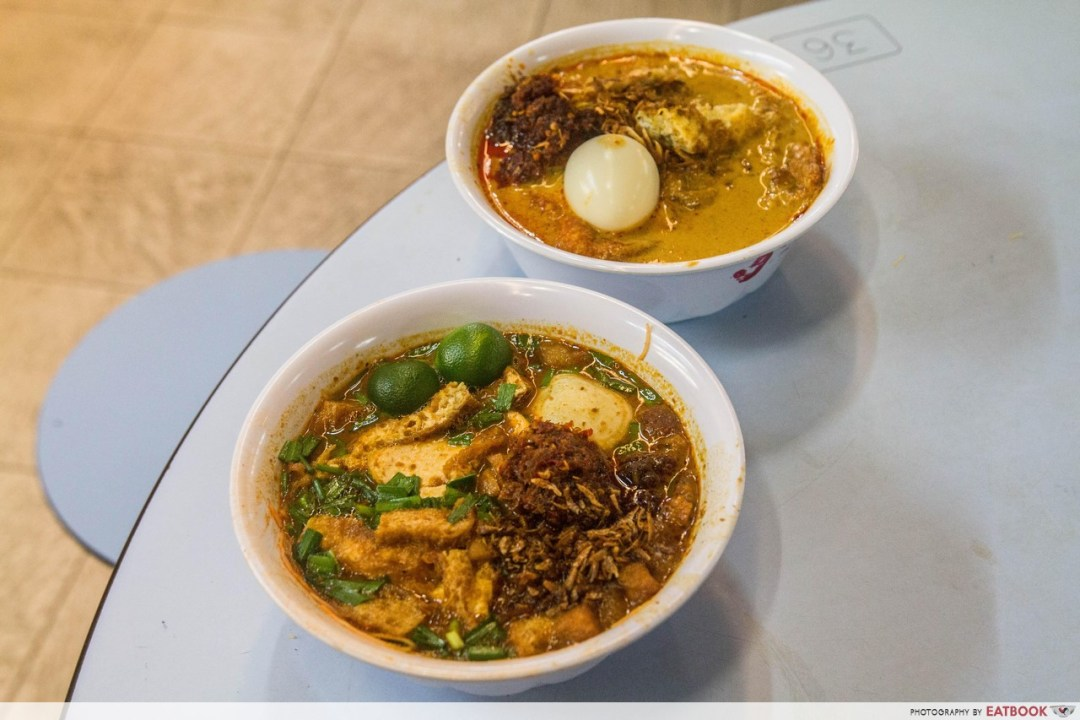 Jia Xiang Mee Siam - Flatlay