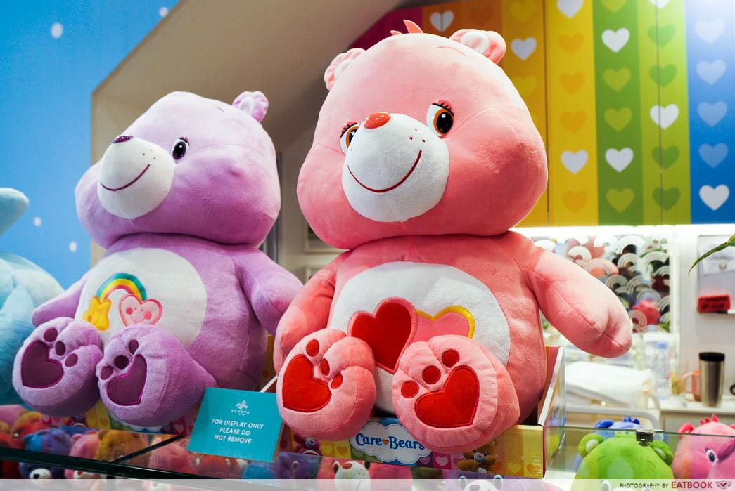 Care Bears Cafe - big soft toys