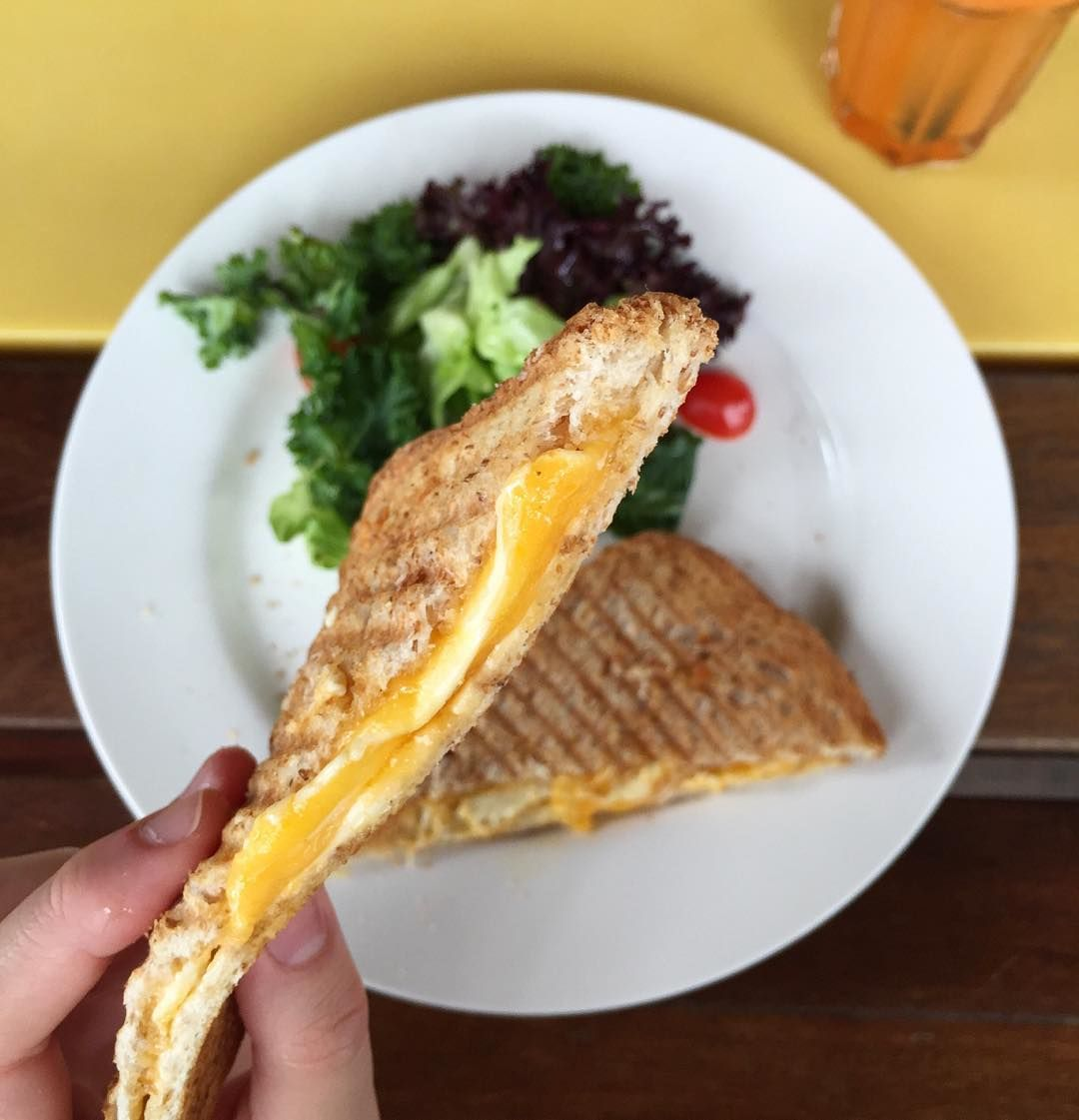 Grilled Cheese Sandwiches - Kith Cafe