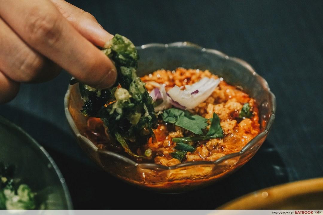 Noodle Thai Thai Kitchen - Crispy Kangkong Sauce