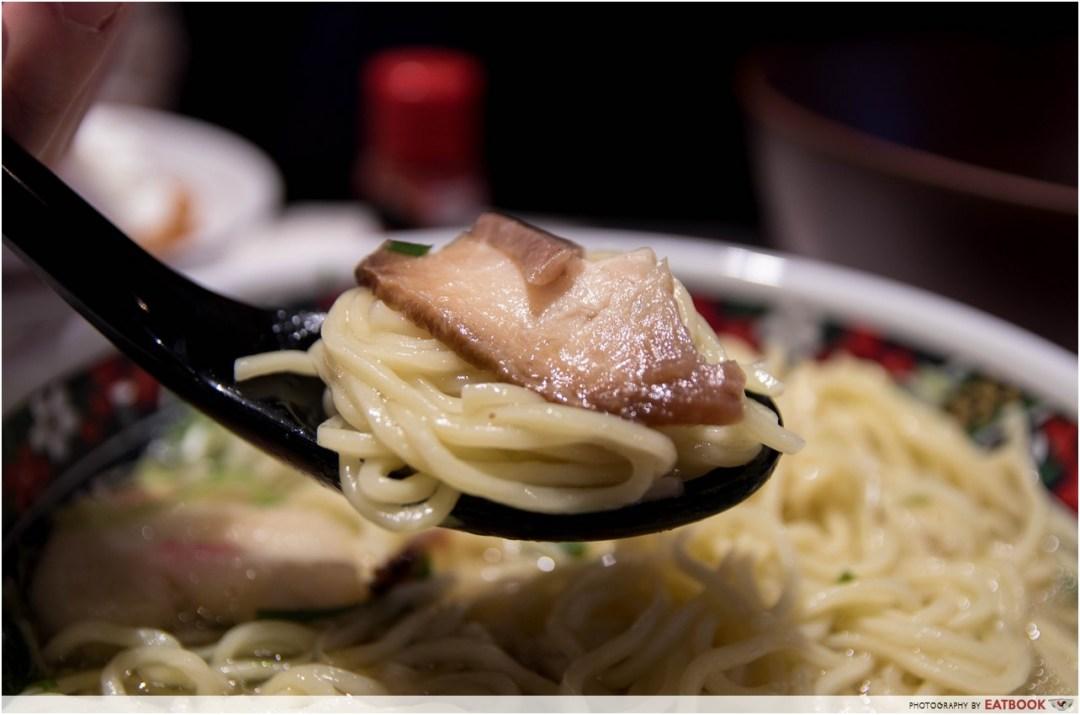 Hokkaido Marche - ramen noodles + cha shu