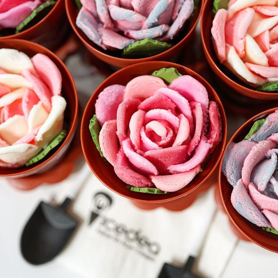 I-Bing - Rose Pot Ice-Cream