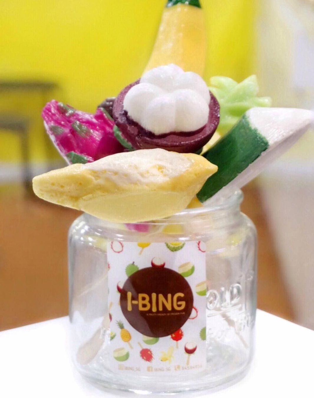 New Restaurants Mar 2018 - I-Bing in a jar