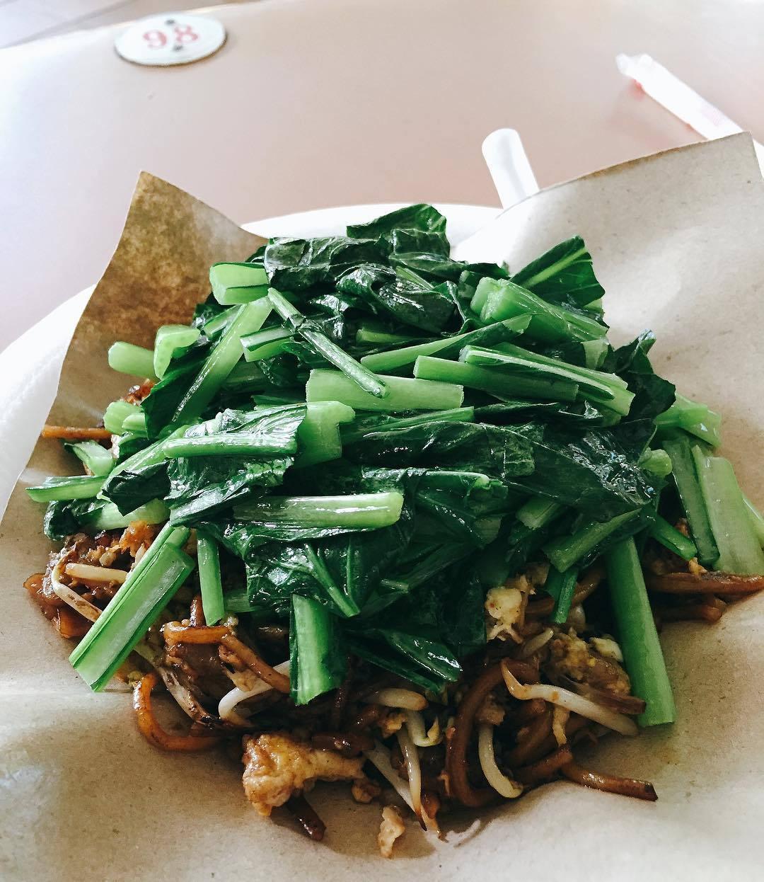 Pasir Panjang Food Centre - Heng Huat Fried Kway Teow