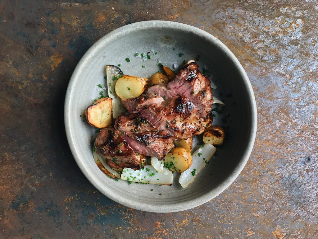 2 Lamb Neck & Roasted Roots