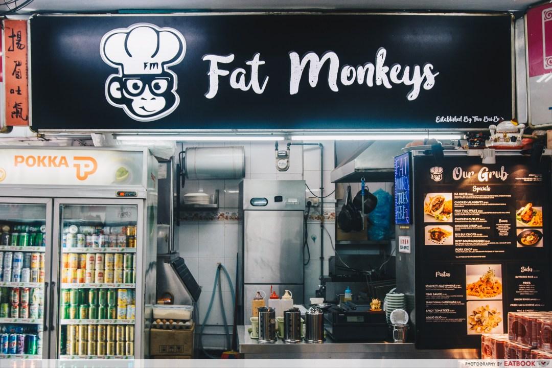 Fat Monkeys Singapore- stall front