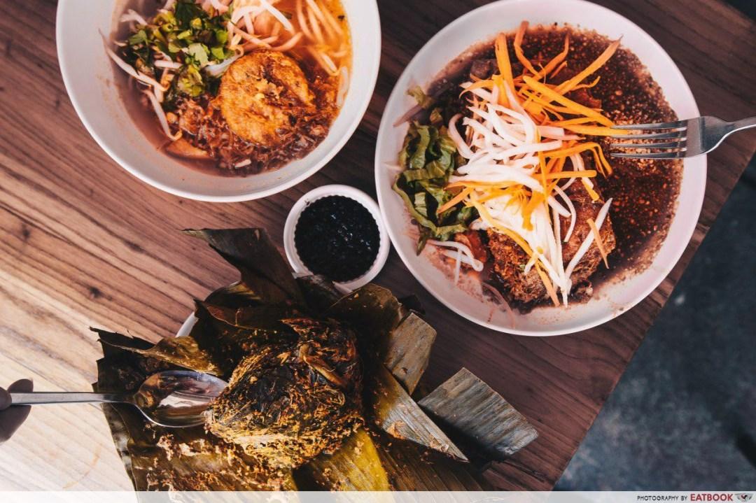 Free Food Trail - Rumah Makan Minang Flatlay