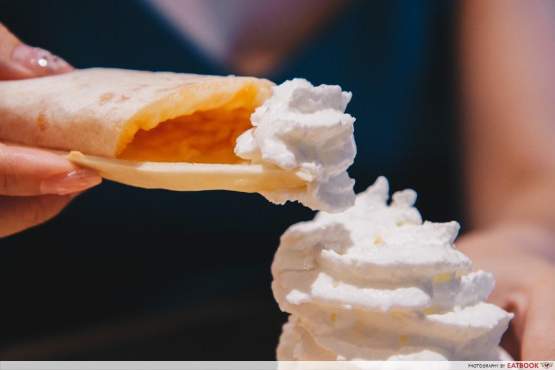 NIPONG NAEPONG-whipped cream
