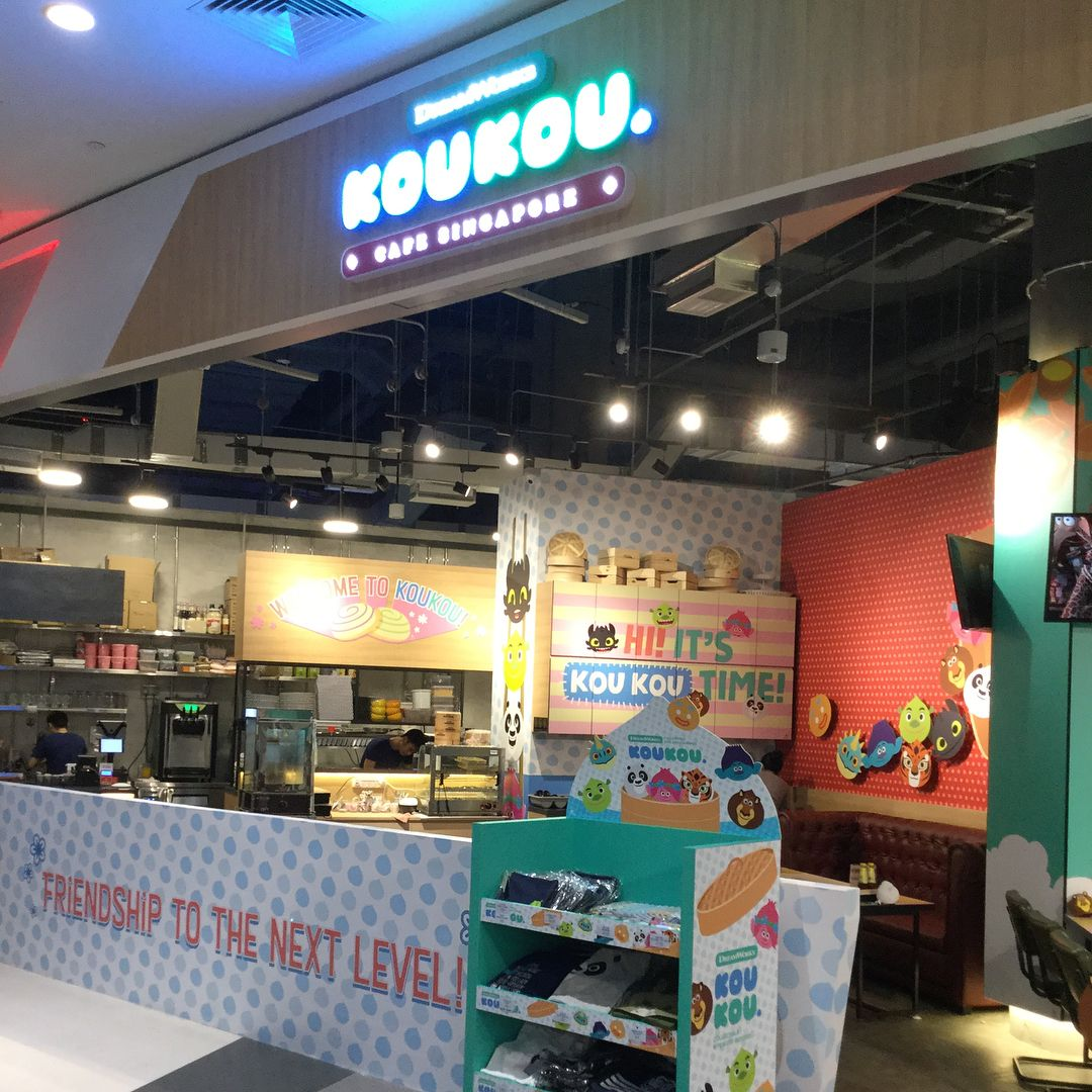 New Restaurants April 2018 - DreamWorks KouKou Cafe Ambience